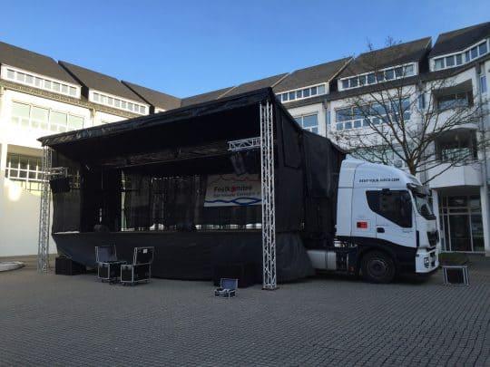 Easystage mobile Bühne