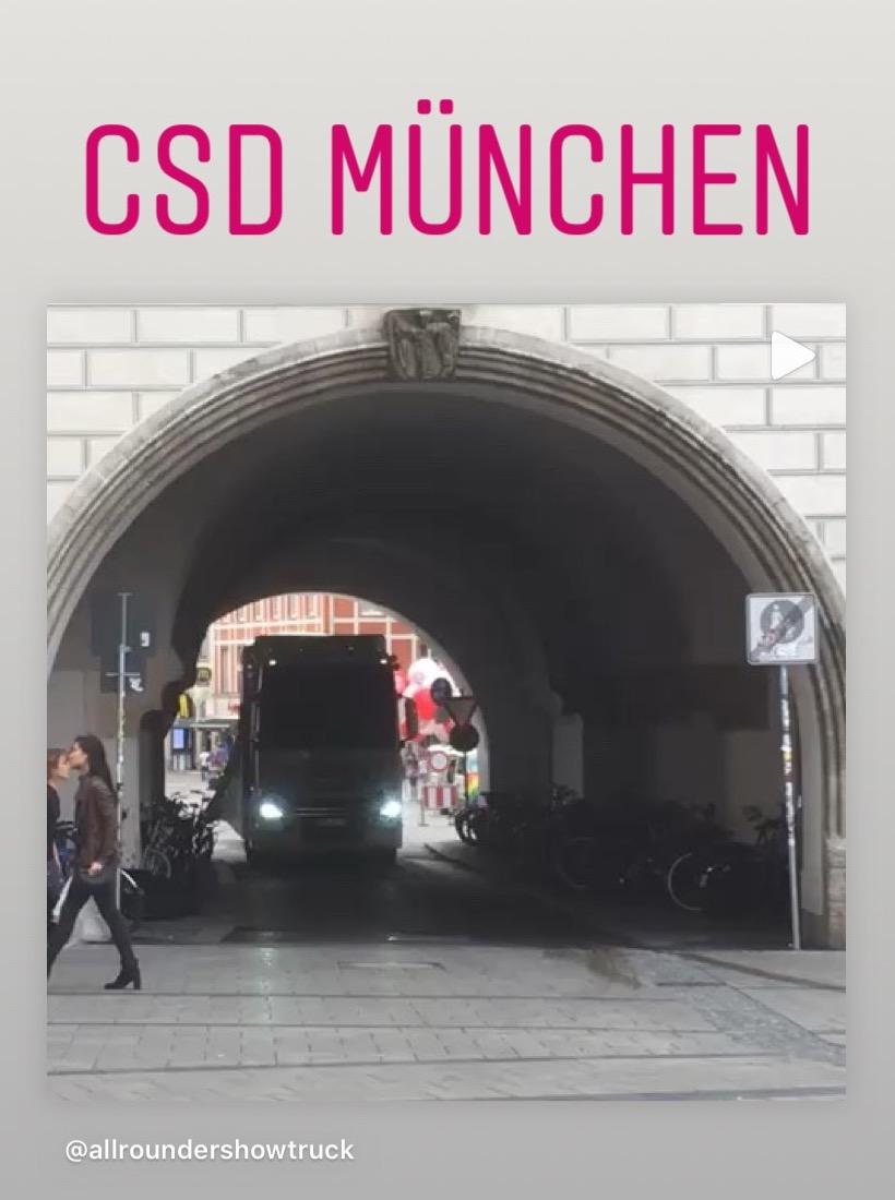 Durchfahrt altes Rathaus beim CSD München